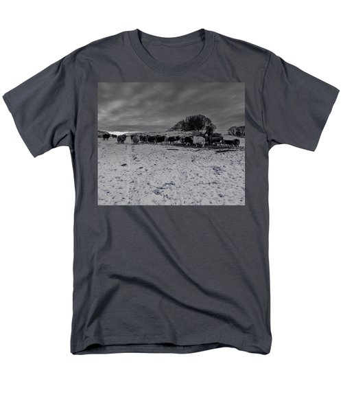 Men's T-Shirt  (Regular Fit) featuring the photograph Shepherds Work by Keith Elliott