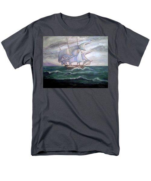 Ship Out To Sea Men's T-Shirt  (Regular Fit) by Manuel Sanchez