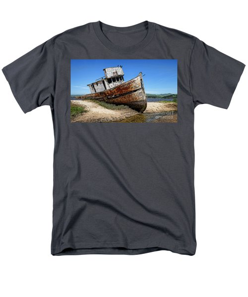 Men's T-Shirt  (Regular Fit) featuring the digital art Shipwreck by Jason Abando