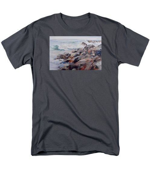 Shore's Rocky Men's T-Shirt  (Regular Fit) by P Anthony Visco