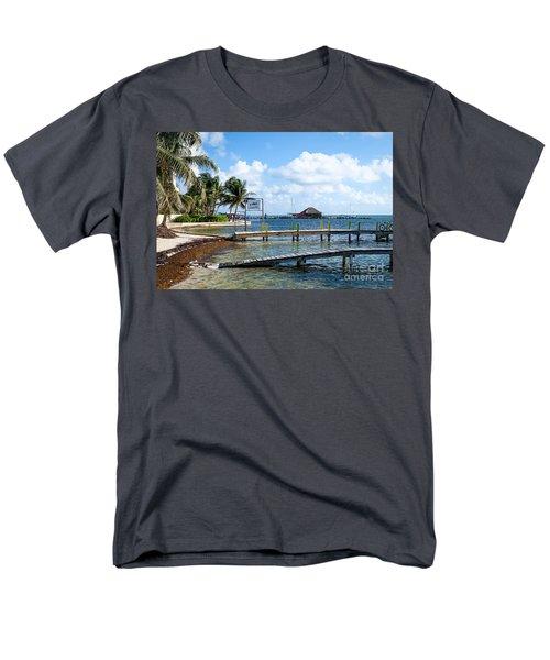 Shoreline Men's T-Shirt  (Regular Fit)
