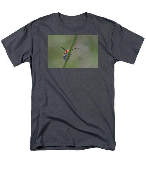 Shy Beetle Men's T-Shirt  (Regular Fit) by Janet Rockburn