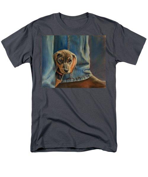 Shy Boy Men's T-Shirt  (Regular Fit) by Ceci Watson