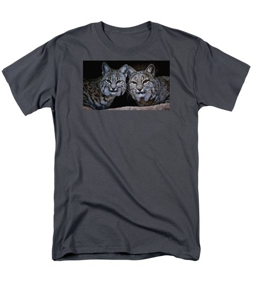 Men's T-Shirt  (Regular Fit) featuring the photograph Side By Side by Elaine Malott