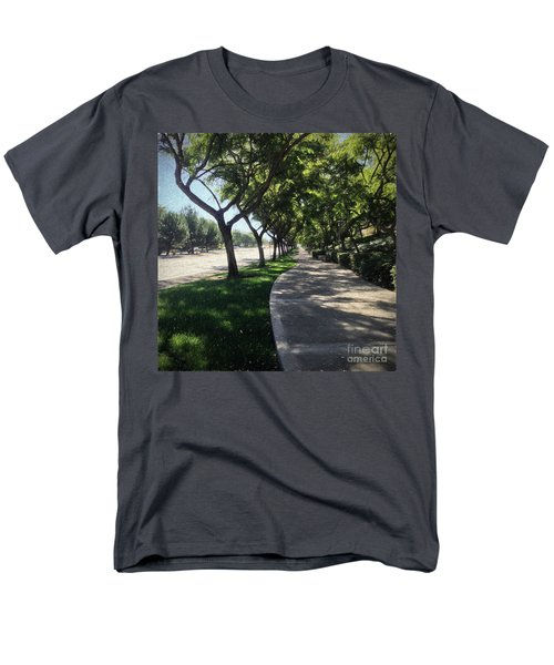 Sidewalk Counseling Men's T-Shirt  (Regular Fit) by Sharon Soberon