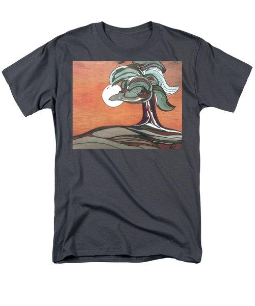 Men's T-Shirt  (Regular Fit) featuring the painting Sienna Skies by Pat Purdy