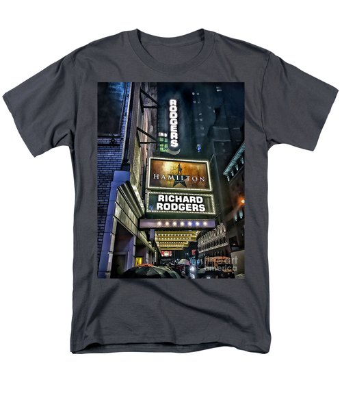 Sights In New York City - Hamilton Marquis Men's T-Shirt  (Regular Fit) by Walt Foegelle