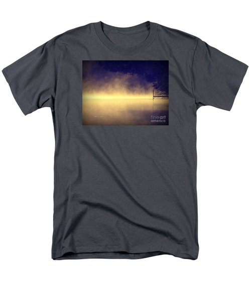 Silent Lake Men's T-Shirt  (Regular Fit) by France Laliberte