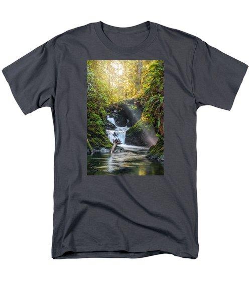 Silk Steps Men's T-Shirt  (Regular Fit) by James Heckt