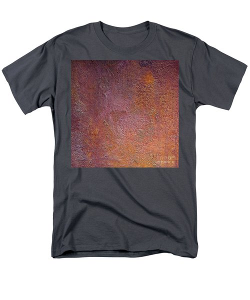 Men's T-Shirt  (Regular Fit) featuring the mixed media Silver Plum by Michael Rock