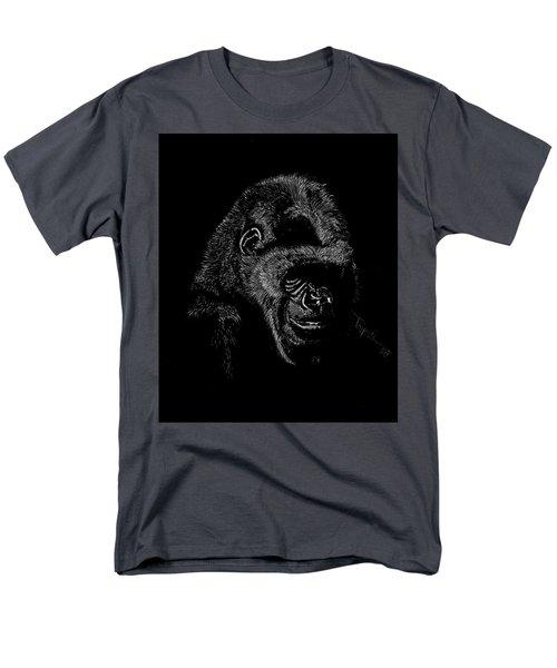 Silverback Men's T-Shirt  (Regular Fit) by Lawrence Tripoli