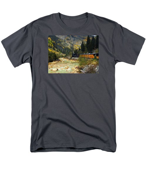 Men's T-Shirt  (Regular Fit) featuring the photograph Silverton Bound by Kurt Van Wagner