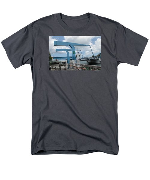Simpson Bay Bridge St Maarten Men's T-Shirt  (Regular Fit) by Christopher Kirby