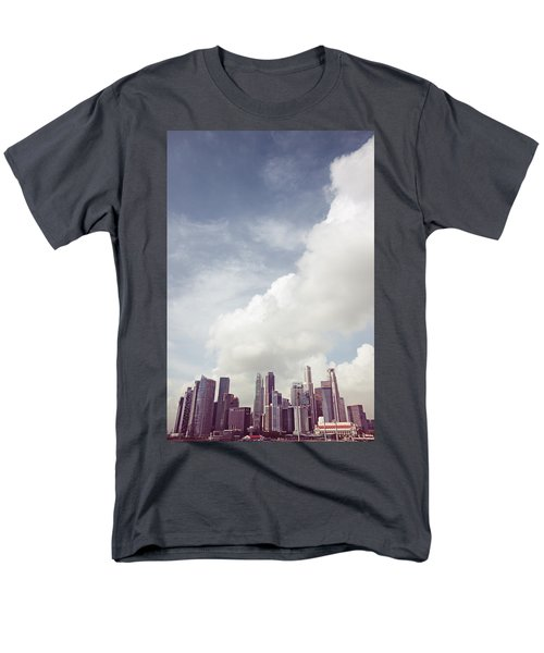 Men's T-Shirt  (Regular Fit) featuring the photograph Singapore Cityscape by Joseph Westrupp