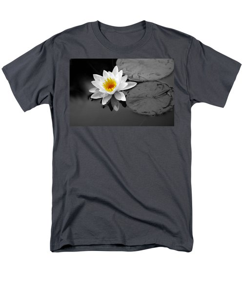 Men's T-Shirt  (Regular Fit) featuring the photograph Single Lily by Shari Jardina