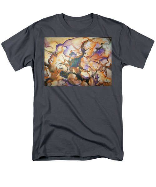 Men's T-Shirt  (Regular Fit) featuring the painting Sistaz by Raymond Doward