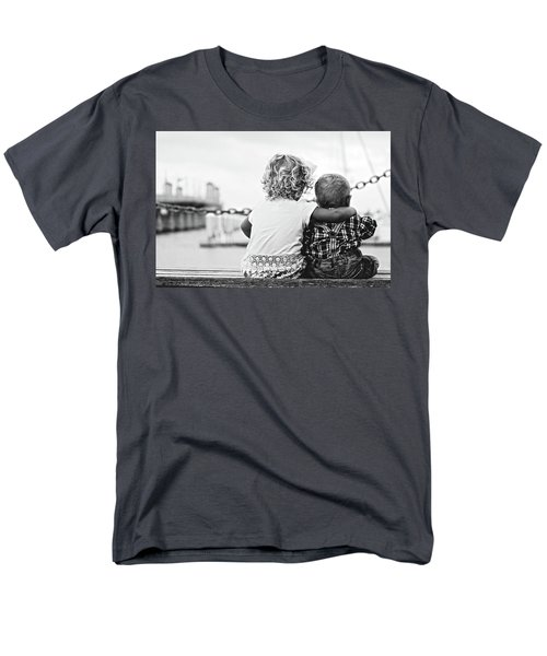 Sister And Brother Men's T-Shirt  (Regular Fit) by Thomas M Pikolin