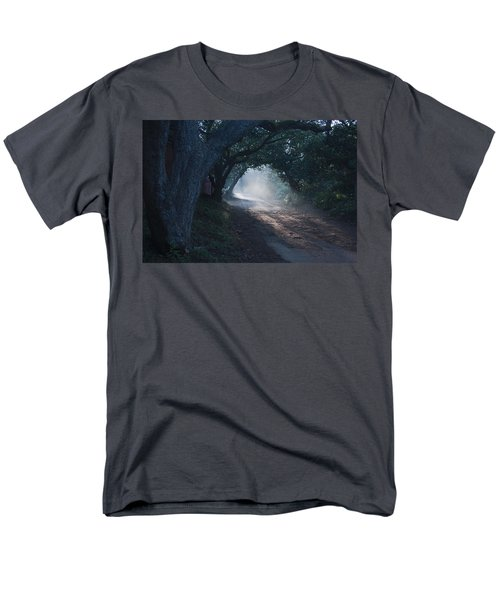 Skc 4671 Road Towards Light Men's T-Shirt  (Regular Fit) by Sunil Kapadia