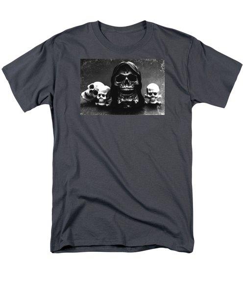 Skulls Men's T-Shirt  (Regular Fit) by Martina Fagan