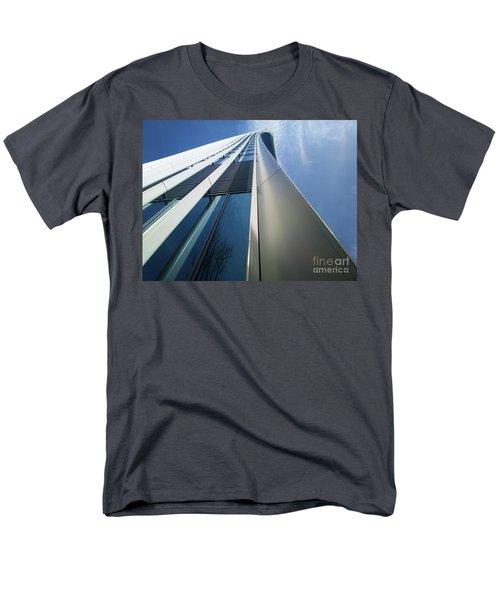 Men's T-Shirt  (Regular Fit) featuring the photograph Sky Garden - London by Hanza Turgul