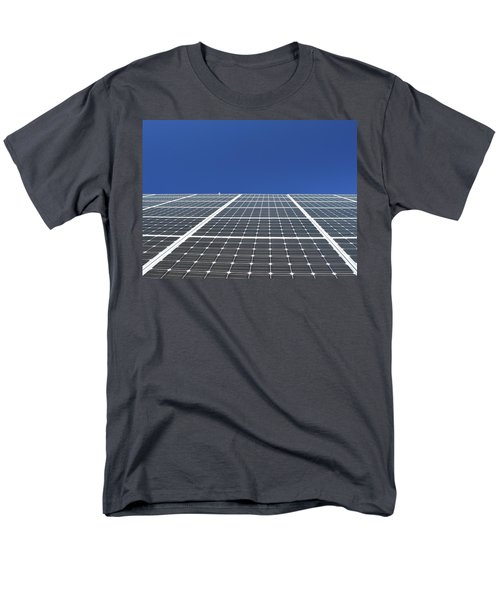 Sky Grid  Men's T-Shirt  (Regular Fit) by Lyle Crump