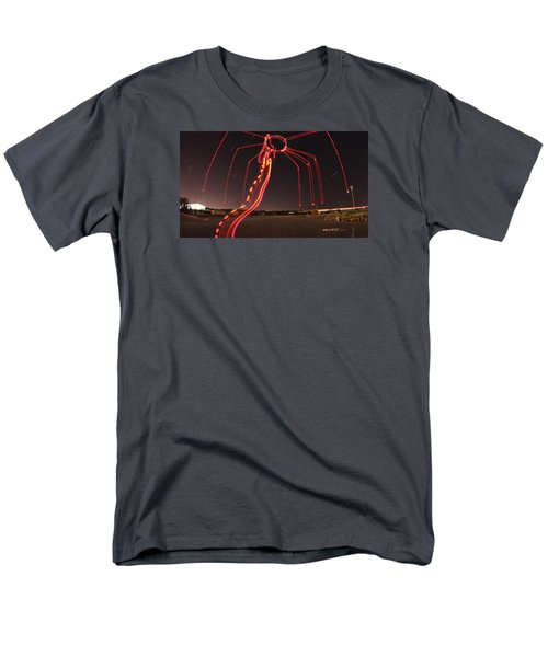 Sky Spider Men's T-Shirt  (Regular Fit) by Andrew Nourse