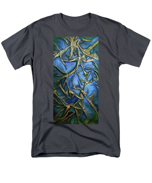 Sky Through The Trees Men's T-Shirt  (Regular Fit) by Angela Stout