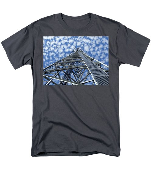 Sky Tower Men's T-Shirt  (Regular Fit) by Robert Geary