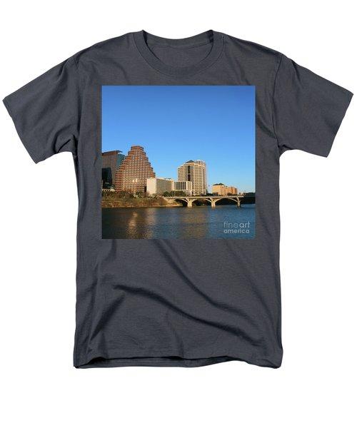 Men's T-Shirt  (Regular Fit) featuring the photograph Skyline Atx by Sebastian Mathews Szewczyk