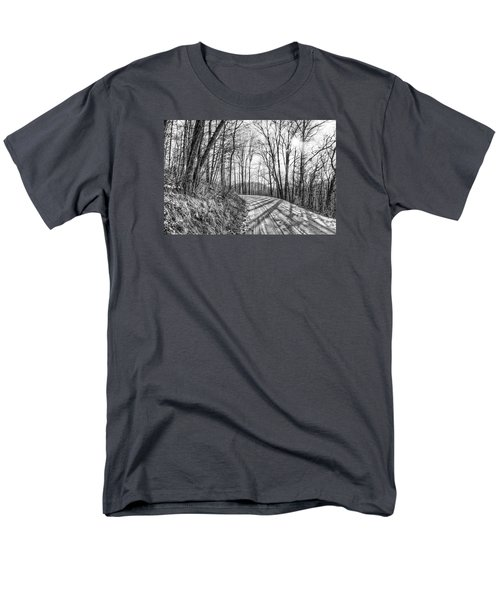 Sleep Hallow Road Men's T-Shirt  (Regular Fit) by Dan Traun