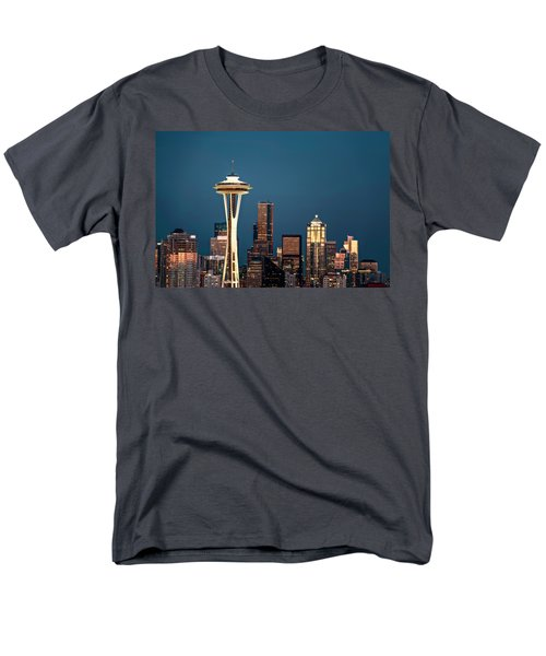 Men's T-Shirt  (Regular Fit) featuring the photograph Sleepless In Seattle by Eduard Moldoveanu