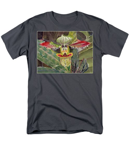 Men's T-Shirt  (Regular Fit) featuring the painting Slipper Foot Aladdin by Mindy Newman