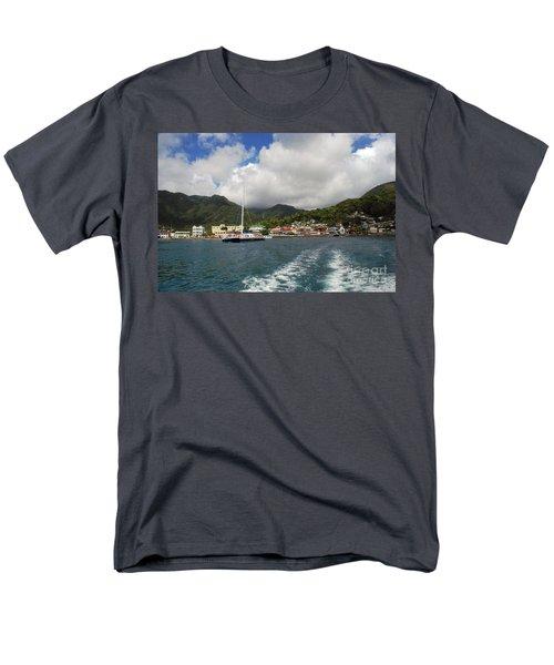 Smalll Village Men's T-Shirt  (Regular Fit) by Gary Wonning