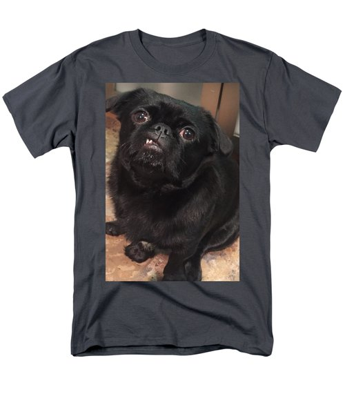 Men's T-Shirt  (Regular Fit) featuring the photograph Smiling For Treats by Paula Brown