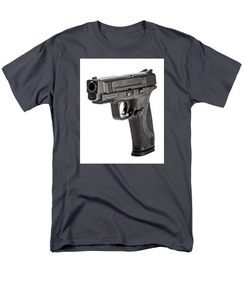 Men's T-Shirt  (Regular Fit) featuring the photograph Smith And Wesson Handgun by Andy Crawford