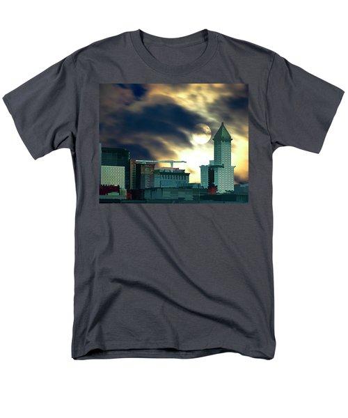 Smithtower Moon Men's T-Shirt  (Regular Fit)