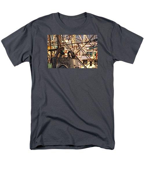 Men's T-Shirt  (Regular Fit) featuring the photograph Smokin' by Cameron Wood