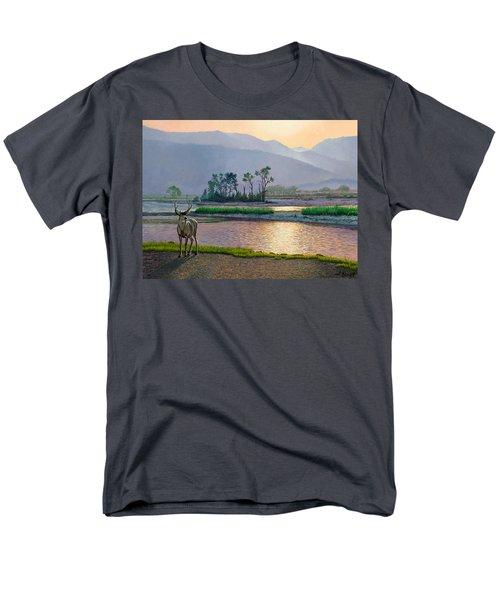 Smoky Morning Glitter Men's T-Shirt  (Regular Fit) by Paul Krapf