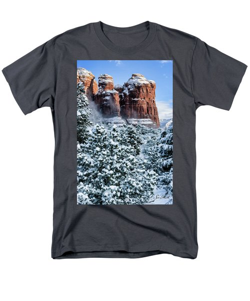 Snow 07-111 Men's T-Shirt  (Regular Fit) by Scott McAllister