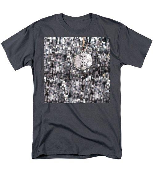 Men's T-Shirt  (Regular Fit) featuring the photograph Snow Flake by Ulrich Schade