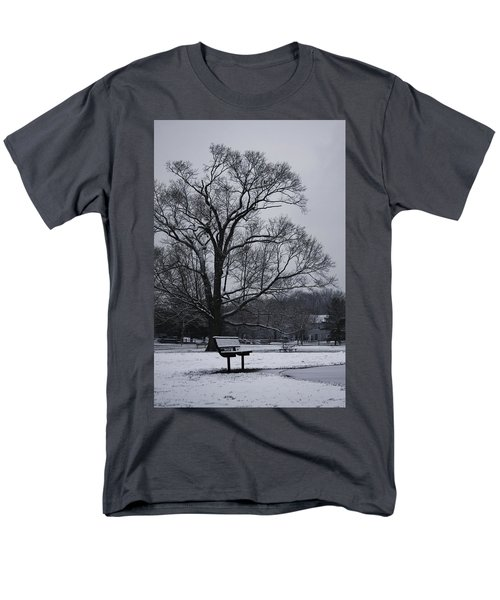 Snow In East Brunswick Men's T-Shirt  (Regular Fit) by Vadim Levin