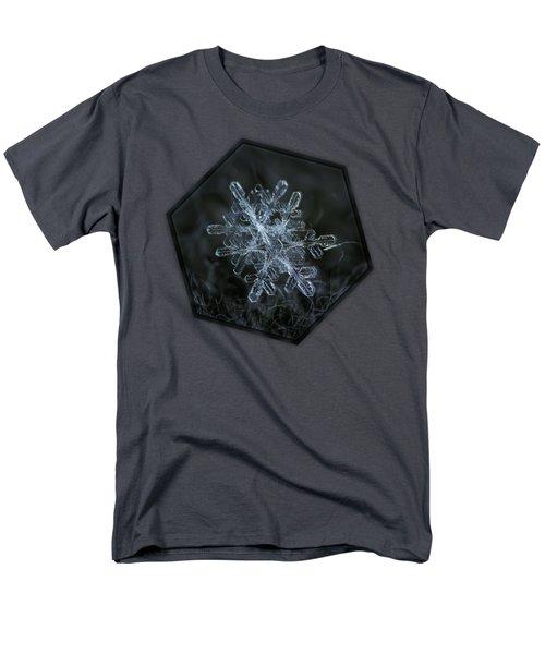 Snowflake Of January 18 2013 Men's T-Shirt  (Regular Fit)