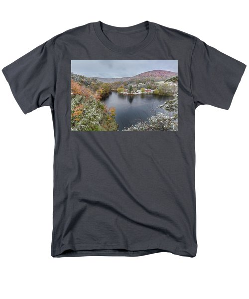 Men's T-Shirt  (Regular Fit) featuring the photograph Snowliage by Bill Wakeley