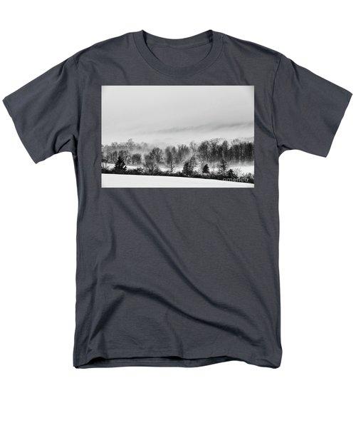 Snowscape Men's T-Shirt  (Regular Fit) by Nicki McManus