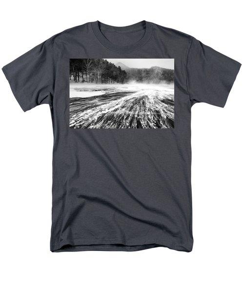 Men's T-Shirt  (Regular Fit) featuring the photograph Snowstorm by Hayato Matsumoto