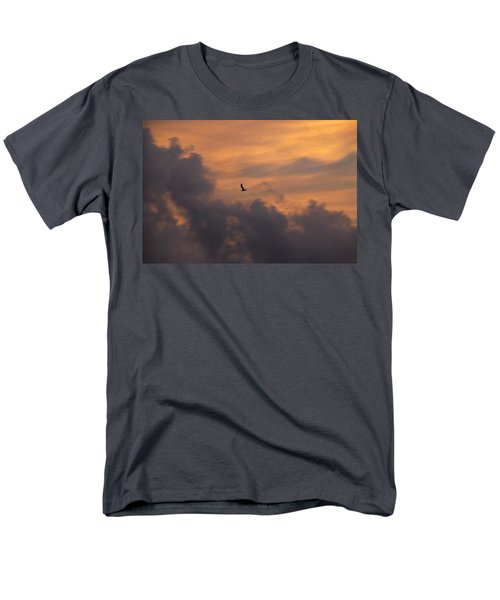 Men's T-Shirt  (Regular Fit) featuring the photograph Soaring Into The Sunset by Richard Bryce and Family