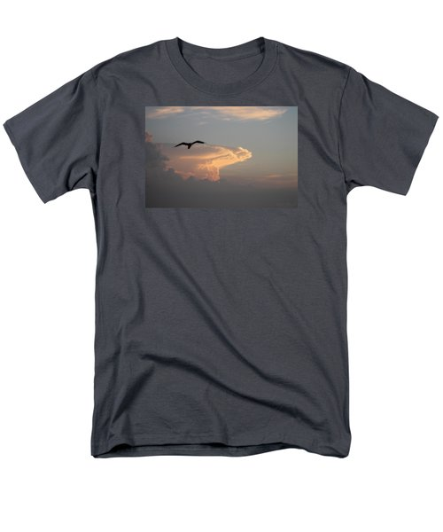 Soaring Over The Clouds Men's T-Shirt  (Regular Fit) by Robert Banach