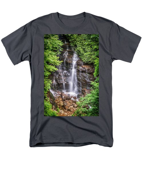 Men's T-Shirt  (Regular Fit) featuring the photograph Socco Falls by Stephen Stookey