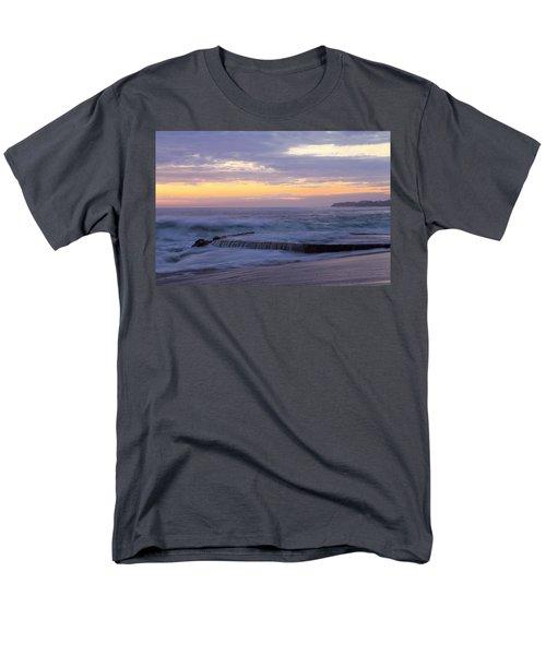 Soft Light On Victoria Beach Men's T-Shirt  (Regular Fit) by Viktor Savchenko