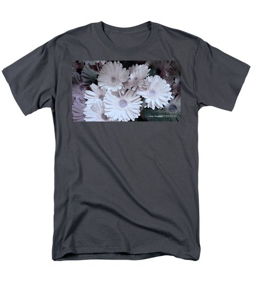 Soft Pink Daisy Bouquet Men's T-Shirt  (Regular Fit) by Jeannie Rhode